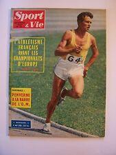 """ Sport & Vie "" Revue - N° 76 / Septembre -1962 (Athlétisme, Foot ,Tennis, Vélo)"
