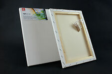 """16x12 """" STRETCHED CANVAS ARTIST BLANK ACRYLIC PRIMED BOX FRAMED 100% COTTON ART"""