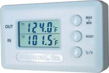 Azel DS-60P Digital Temperature Gauge Remote Hydronic Radiant Solar GeoThermal
