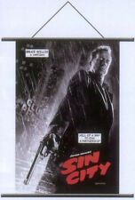 Sin City Bruce Willis Hartigan Cloth Wall Scroll Poster 33253 NEW Toys NECA Cool
