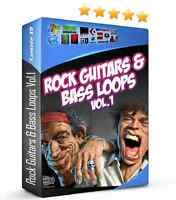Rock Guitars & Bass Loops WAV REX FL Studio Reason Ableton Pro Tools Maschine