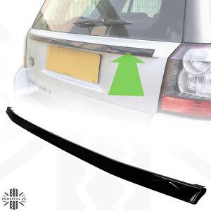 Rear tailgate upgrade strip Gloss Black for Freelander 2 back door boot painted