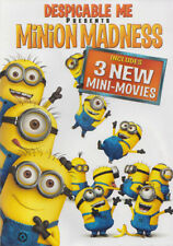 DESPICABLE ME PRESENTS - MINION MADNESS (3 NEW MINI-MOVIES) (DVD)