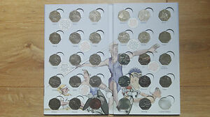 London 2012 Olympic Games Fifty Pence 50p Coins NO ALBUM