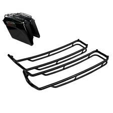 Guide coperchi borse laterali LED per Harley Road Glide 14-20 cromo
