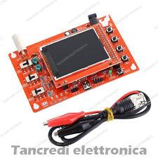 """Oscilloscopio KIT DSO138 LCD colori schermo lcd tft 2,4"""" da montare fai da te"""