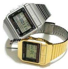Casio Lover Pair Unisex Watch Databank VINTAGE RETRO DIGITAL QUARTZ DB380G DB380
