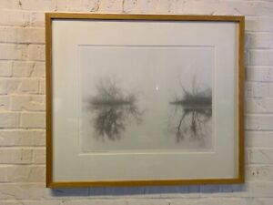"""Refuge Lake Reflections"" Orignal Printed Photograph Print Signed Jerome Hawkins"