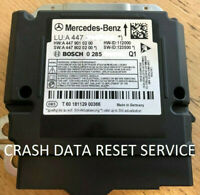 CRASH DATA RESET SERVICE FOR MERCEDES VITO W447 2014 - 2020 AIRBAG SRS MODULE