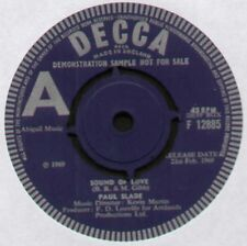 "[BEE GEES] Paul SLADE ~ Sound of Love/Odyssey ~ 1969 UK ""DEMO"" 7"" singolo"