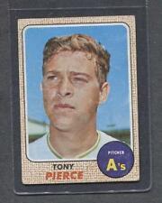 1968 Topps #38 Tony Pierce (A's)  Vg-Ex  (Flat Rate Ship)  A1