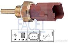 FACET Sensor temp. refrigerante AUDI A3 OPEL COMBO RENAULT CLIO FORD FIAT 7.3326