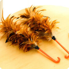 Anti-static Ostrich Feather Fur Brush Duster Dust Cleaning Tool Home Cleaning