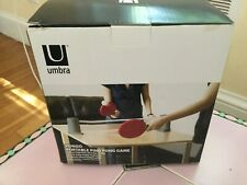 UMBRA Pongo Portable Ping Pong Game Never Opened in Original Box