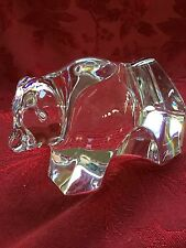 FLAWLESS Exquisite BACCARAT France Crystal OURSONS BEAR CUB Figurine Sculpture