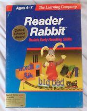 "Apple II e 2- ""Reader Rabbitt"" Software Box, book &  5.25"" Disks- In EXC shape"