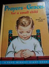 Vintage kitsch book - Prayers & Graces for a small child - 1955