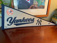Vintage 2005 New York Yankees Pennant Flag Rare Baseball History Wow WinCraft