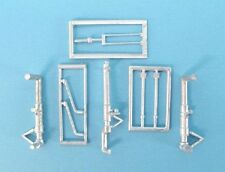 P-38 Lightning Landing Gear 1/48th  Scale for Academy / Eduard Models SAC 48191
