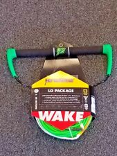 PROLINE LG WAKEBOARDING ROPE & HANDLE PACKAGE 75 FT. LENGTH (GREEN)