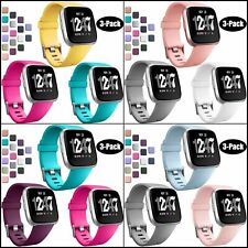 Bands For Fitbit Versa and Versa Lite SE Watch Replacement Strap Wristband 3Pack