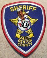 TX Denton County Texas Sheriff Patch