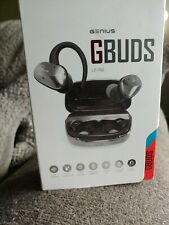 Genius GBuds True Wireless Earbuds Bluetooth 5.0 w/ Power Bank Noise-Cancelling