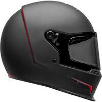 Bell Eliminator Street Motorcycle Helmet Vanish Flat Matte Black/Red Large