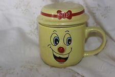 Tisane Mug Cup Tasse  Yellow  Smiley Face