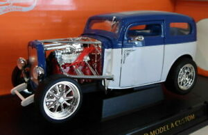 Lucky Diecast 1/18 Scale 92849 1931 Ford Model A Custom Blue / White