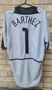 Manchester United Football Shirt 2002/04 GK ~ Barthez 1 ~ Medium