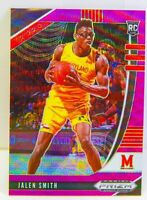 Jalen Smith 2020-21 Purple Wave Prizm Draft Picks Rookie Card #70 Suns Maryland