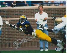 DESMOND HOWARD #3 SIGNED 8X10 MICHIGAN WOLVERINE PHOTO BECKETT CERTIFIED