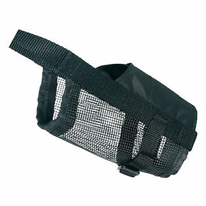Trixie Dog Muzzle With Net Insert Small (Jack Russel, Dachshun/ minature Poodle)