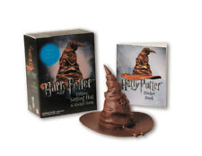 Harry Potter: Talking Sorting Hat Miniature + Which House Are You? Sticker Book
