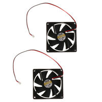 8cm 3000RPM 80mm DC 5V 2 Pin Silent PC Computer Case Cooling Fan Cooler Radiator
