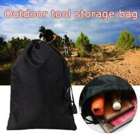 Storage Bag Drawstring Nylon Waterproof Dustproof Pouch For Outdoor CL E3Z4