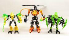 LEGO Hero Factory Villains 7162 Rotor 7156 Corroder 7148 Meltdown