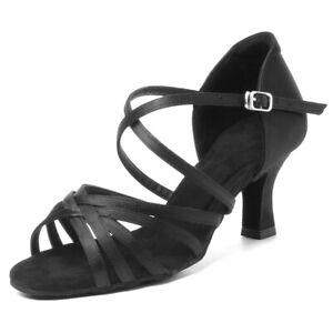 Latin Dance Shoes for Women/Girls/Ladies Tango High Heel Indoor Dance profession