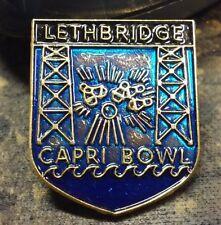 Lethbridge Capri Bowl lapel pin pre-owned