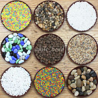 Mini Irregular Gravel River Stone Pebbles Plants Flowerpot Aquarium Decorations