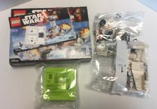 Lego 75138 Star Wars Hoth Attack With Korea Exclusive Promotional Storage NIOB