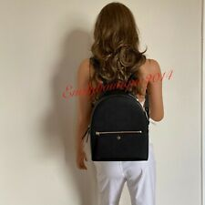 Tory Burch Emerson Black Saffiano Leather Medium Backpack 55487