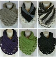 Crochet lacey Charma neck warmer scarf pattern PATTERN ONLY Quick Simple Easy