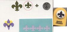 Small Fleur De Lis Shape Paper Punch x Punch Bunch Scrapbooking-Cardmaking NEW