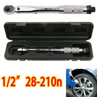 1/2'' Torque Wrench Drive Click Bike Tool Ratchet Wrench Repair Key 28-210n UK