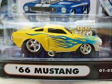 MUSCLE MACHINES (1966) '66 FORD MUSTANG  - SUPERCHARGED - 1/64 DIECAST