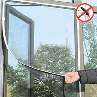 Anti-Insect Fly Bug Mosquito Window Door Curtain Net Mesh Screen Protector DIY