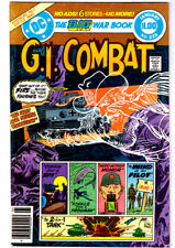 G.I. COMBAT #225 in FN/VF- condition a 1981 DC Bronze Age war comic