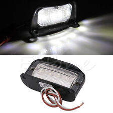 New 4LED Rear Number License Plate Light Lamp Truck Trailer Caravan Waterproof